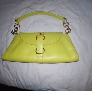 Furla Lime Green Purse